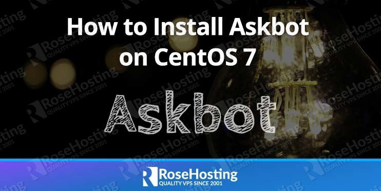 How to Install Askbot on CentOS 7
