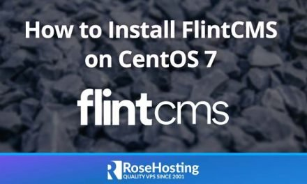 How to Install FlintCMS on CentOS 7