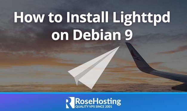 How to Install Lighttpd on Debian 9