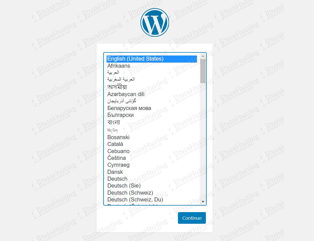 WordPress LAMP