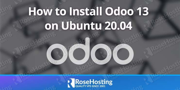 how to install odoo 13 on ubuntu 20 04