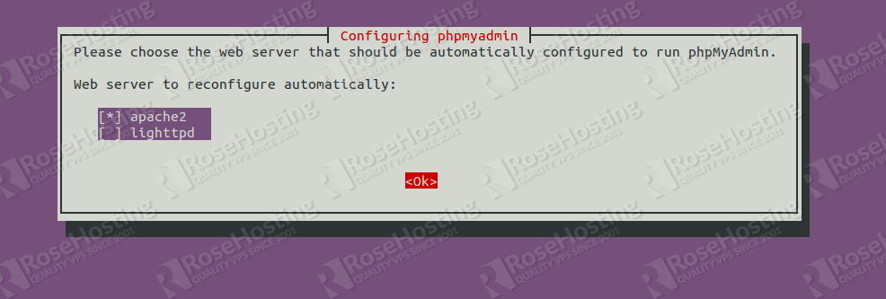 installing phpmyadmin on ubuntu 20.04