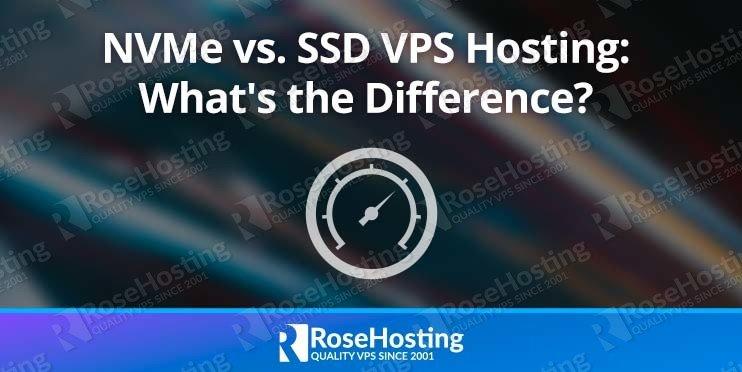 NVMe SSD hosting comparison