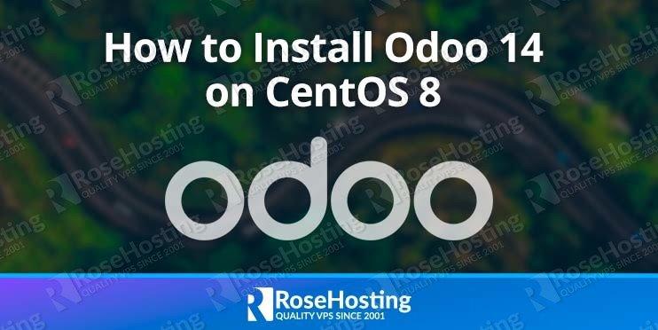install Odoo 14 for CentOS 8