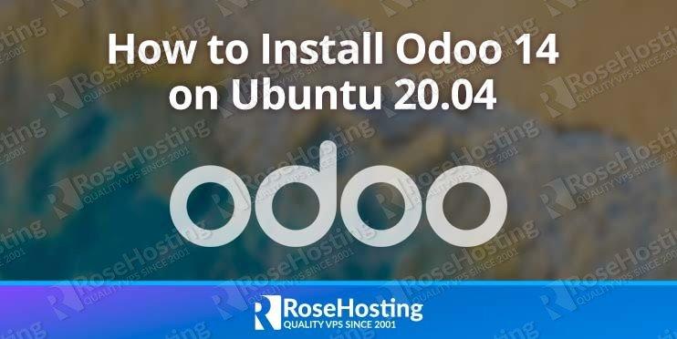 install installation odoo 14 erp ubuntu 20.04