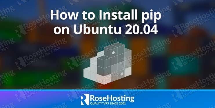 install pip python ubuntu 20.04