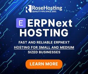 erpnext hosting