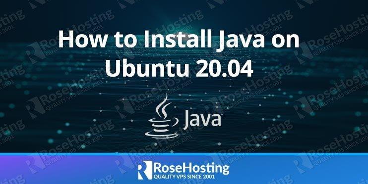 how to install java on ubuntu 20.04