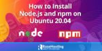 how to install node.js on ubuntu 20.04