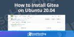 how to install gitea on ubuntu 20.04