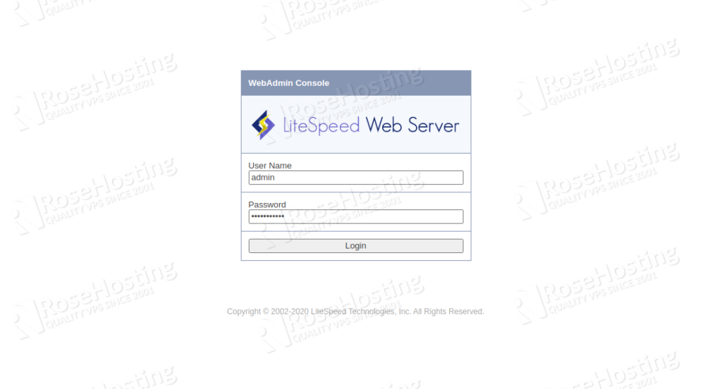 how to configure litespeed server for highly loaded php applications