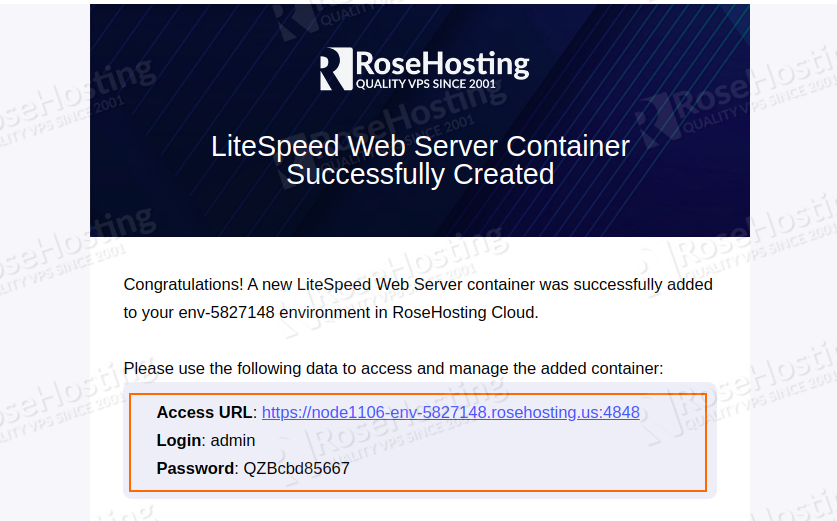 how to set up litespeed server for highly loaded php applications