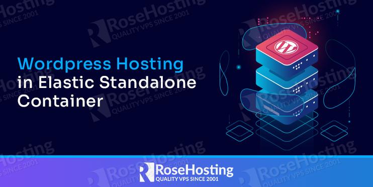 wordpress hosting in elastic standalone container