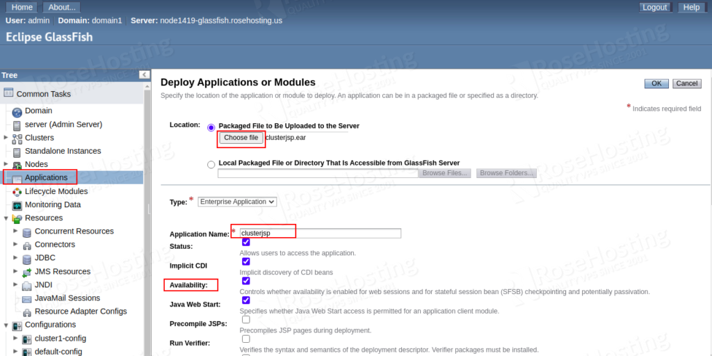 deploy java ee highly-available applications in the cloud