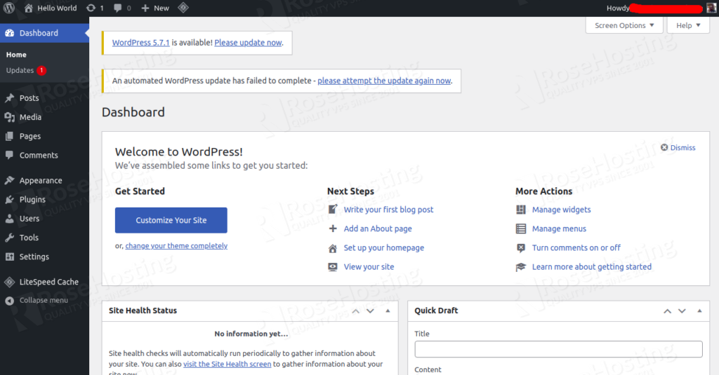 how to install and deploy a woocommerce website on cloud paas