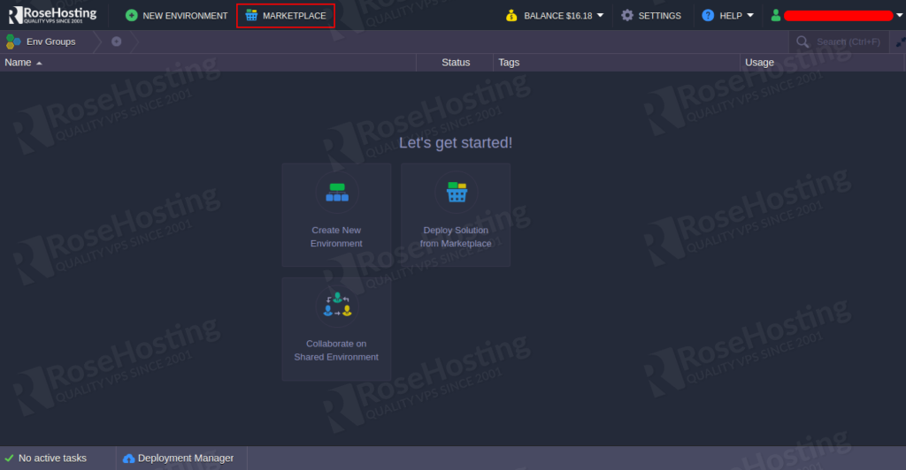 install and deploy a woocommerce website on rosehosting cloud