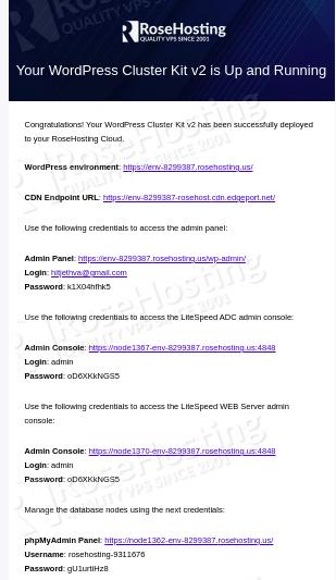 wordpress auto clustering configuration