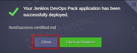 ci/cd on jenkins cluster hosting