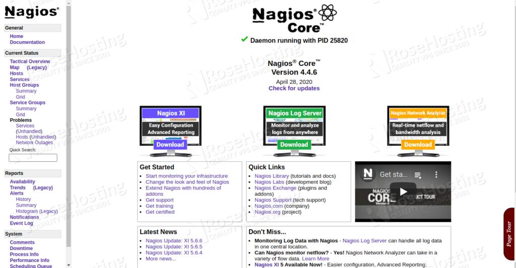 install nagios 4 to monitor servers on ubuntu 20.04