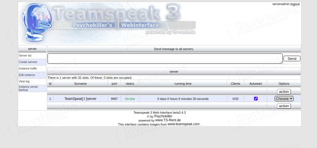 installing teamspeak server on ubuntu 18.04 and 20.04
