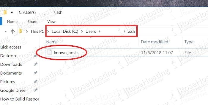 use ssh to download files from server to desktop