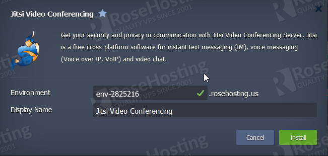 how to make video conferencing with jitsi