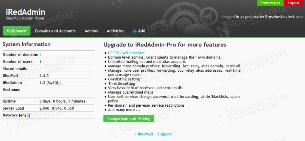 how to set up iredmail on ubuntu 20.04