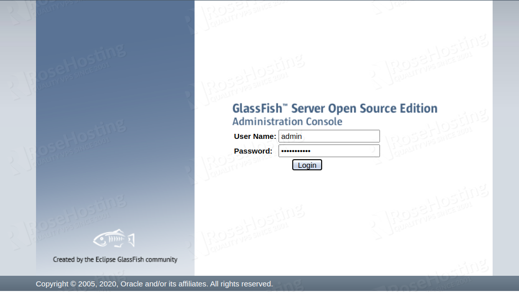 install glassfish cluster with automatic load balancing