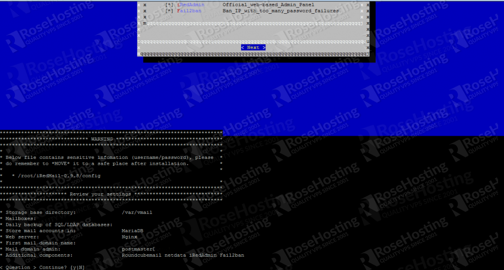 installation of iredmail on ubuntu 20.04