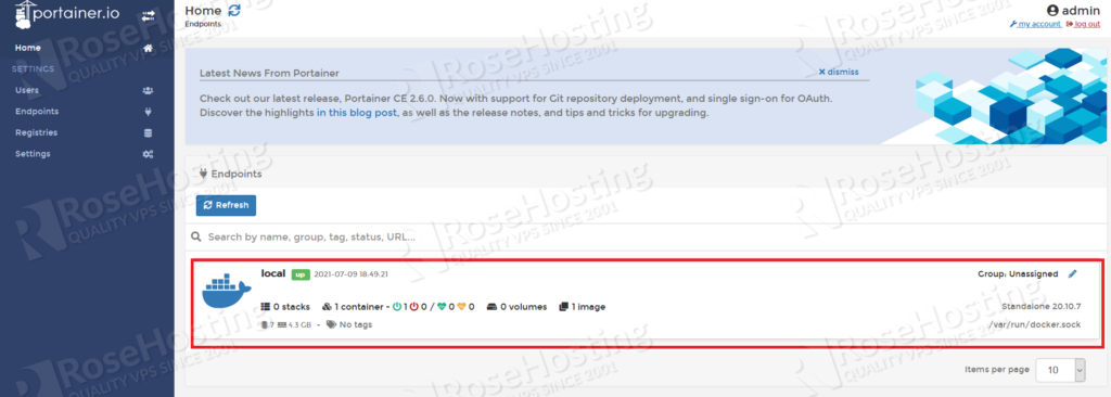 configure and install docker engine ce on rh cloud