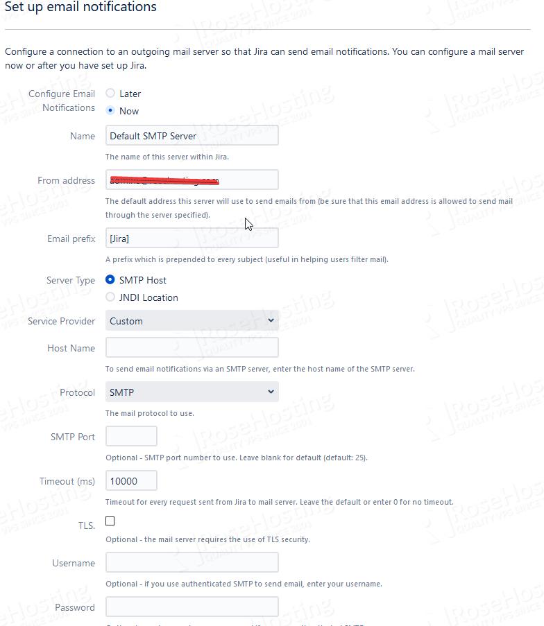 installing jira ticketing on linux cloud hosting