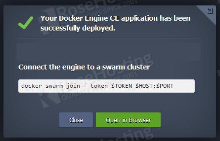 how to configure docker engine ce on rh cloud