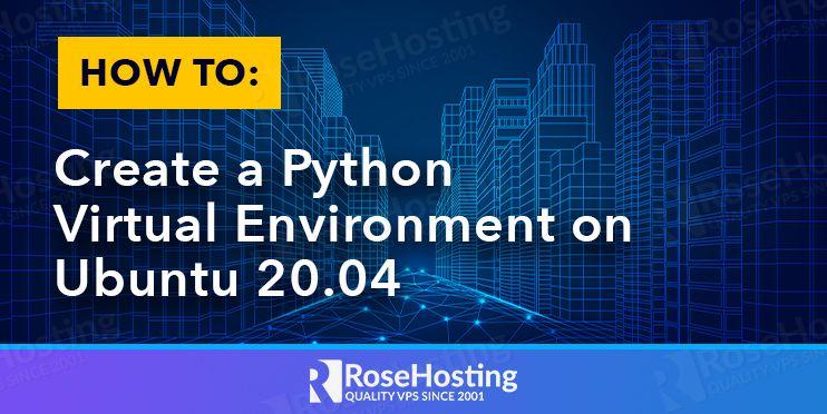 how to create a python virtual environment on ubuntu 20.04