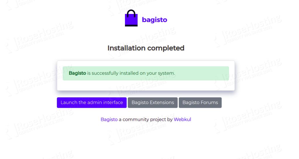 install bagisto on ubuntu 20.04