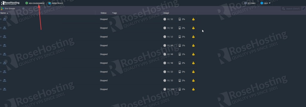 installing and configuring apache and php on rosehosting cloud paas