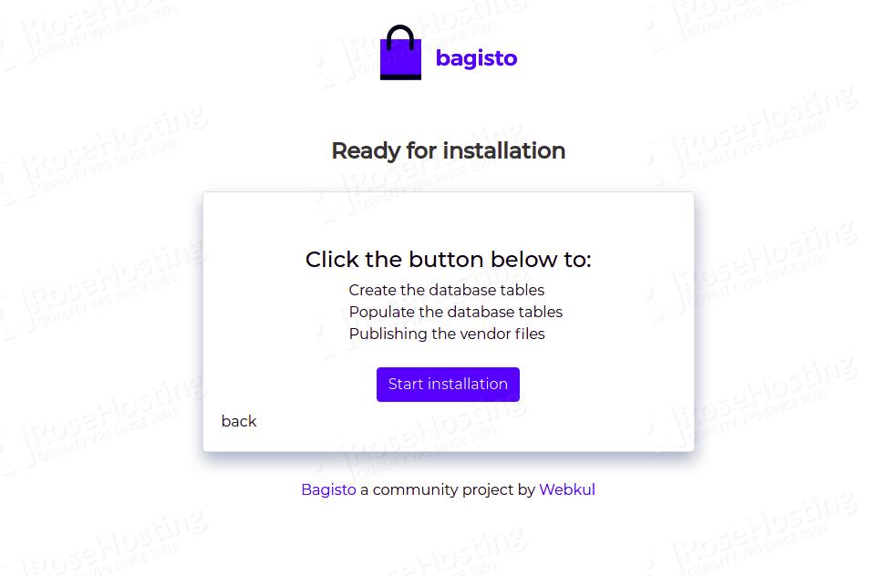 installing bagisto ecommerce platform on ubuntu 20.04