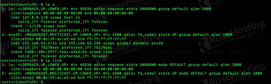 how to set up static ip address on ubuntu 20.04
