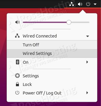 ip address configuration on ubuntu 20.04