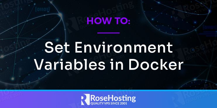 how to set environment variables in docker